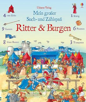 Mein großer Such- und Zählspaß: Ritter und Burgen - Hazel Maskell