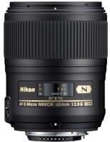 Nikon AF-S NIKKOR 60 mm F2.8 ED G 62 mm Objectif (adapté à Nikon F) noir