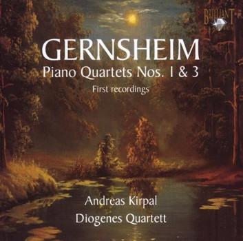 Andreas Kirpal - Gernsheim: Piano Quartets