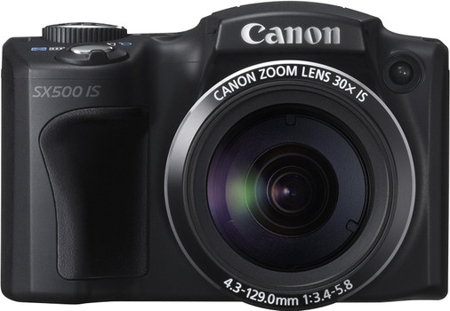 Canon PowerShot SX500 IS negro