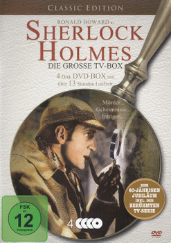 Sherlock Holmes - Die Große TV-Box [4 DVDs, Classic Edition]