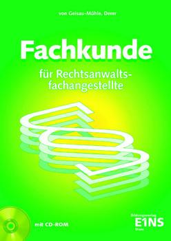 Set Rechtsanwalts- und Notarfachangestellte: Fachkunde für Rechtsanwaltsfachangestellte. Lehr- und Fachbuch - Sylvia Derer