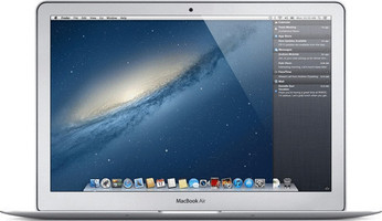 "Apple MacBook Air 13.3"" (Haute-Res Brillant) 1.8 GHz Intel Core i5 4 Go RAM 256 Go SSD [Mi-2012, clavier anglais, QWERTY]"