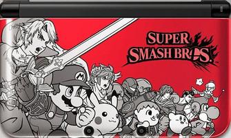 Nintendo 3DS XL Rouge et Noire [Edition Limitée Super Smash Bros]