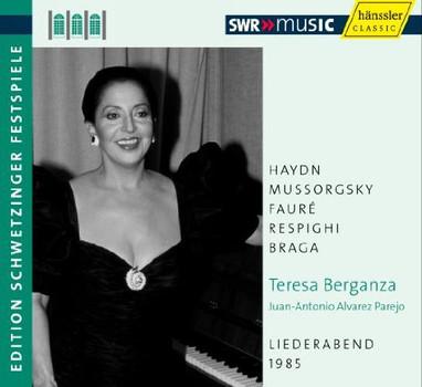 Teresa Berganza - An Evening of Song