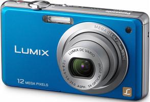 Panasonic Lumix DMC-FS10 bleu