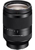Sony FE 24-240 mm F3.5-6.3 OSS 72 mm Objectif (adapté à Sony E-mount) noir