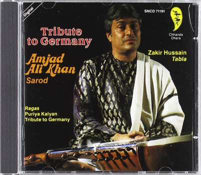 Amjad Ali Khan - Tribute to Germany