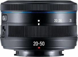Samsung NX 20-50 mm F3.5-5.6 II 40,5 mm Objetivo (Montura Samsung NX) negro