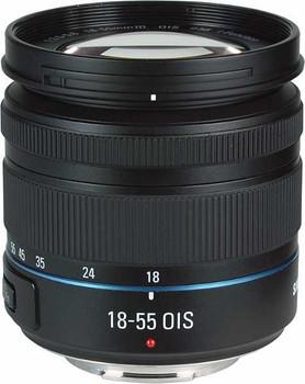 Samsung NX 18-55 mm F3.5-5.6 i-Function OIS III 58 mm Obiettivo (compatible con Samsung NX) nero