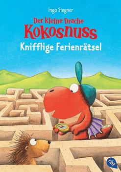 Der kleine Drache Kokosnuss - Knifflige Ferienrätsel - Ingo Siegner  [Taschenbuch]