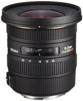Sigma 10-20 mm F4.0-5.6 DC EX HSM 77 mm Objetivo (Montura Canon EF) negro