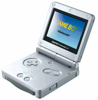 Game Boy Advance SP plata