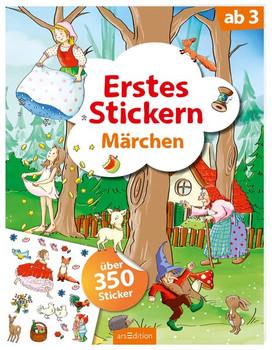 Erstes Stickern Märchen. Mit über 250 Stickern [Taschenbuch]