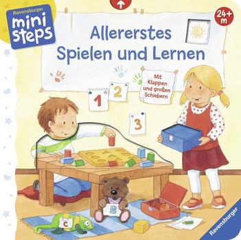 Allererstes Spielen und Lernen: Ab 24 Monaten - Sandra Grimm [Pappbilderbuch]