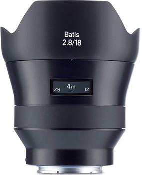 Zeiss Batis 18 mm F2.8 77 mm filter (geschikt voor Sony E-mount) zwart