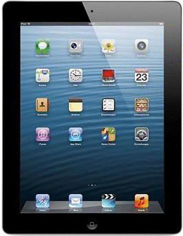 "Apple iPad 4 9,7"" 128GB [wifi] zwart"