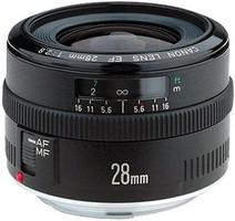 Canon EF 28 mm F2.8 52 mm Objectif (adapté à Canon EF) noir