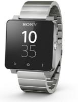 Sony SmartWatch 2 40,6 mm noir avec Bracelet en métal argent
