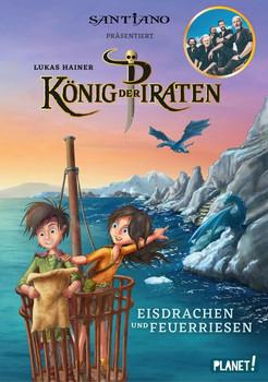 König der Piraten 2: Eisdrachen und Feuerriesen - Lukas Hainer [Gebundene Ausgabe]