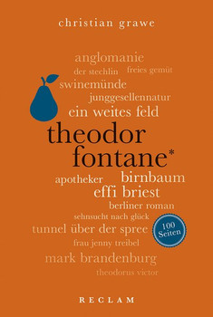Theodor Fontane. 100 Seiten - Christian Grawe  [Taschenbuch]