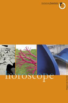 """Magazin der Fakultät für Innenarchitektur. """"horoscope"""" - Kilian Stauss  [Gebundene Ausgabe]"""