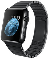 Apple Watch 42mm negro espacial con pulsera de eslabones negra [Wifi]