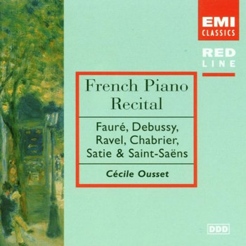 Cecile Ousset - Red Line - Französische Klaviermusik