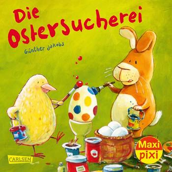 Maxi Pixi 289: Die Ostersucherei - Günther Jakobs  [Taschenbuch]