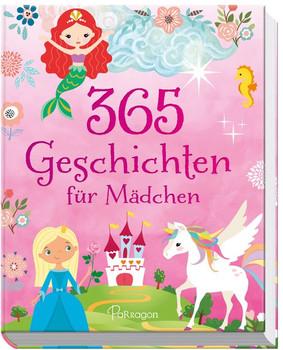 365 Geschichten für Mädchen - Annie Baker  [Gebundene Ausgabe]