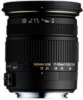 Sigma 17-50 mm F2.8 DC EX HSM OS 77 mm Objetivo (Montura Sony A-mount) negro