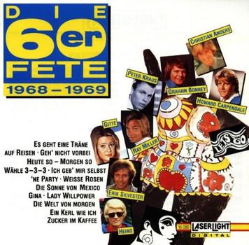 Various - Die 60er Fete 1968-69