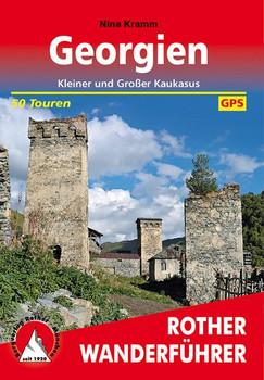 Georgien. Kleiner und Großer Kaukasus. 50 Touren. Mit GPS-Daten - Nina Kramm  [Taschenbuch]