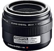 Olympus Zuiko Digital 35 mm F3.5 52 mm filter (geschikt voor Four Thirds) zwart