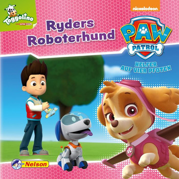 Maxi-Mini 10: PAW Patrol Ryders Roboterhund [Taschenbuch]