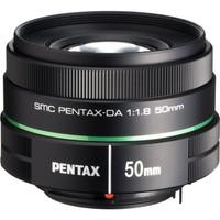 Pentax smc DA 50 mm F1.8 52 mm filter (geschikt voor Pentax K) zwart