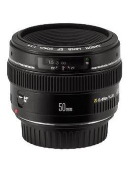 Canon EF 50 mm F1.4 USM 58 mm filter (geschikt voor Canon EF) zwart
