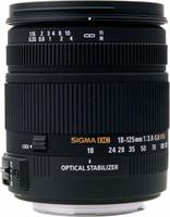 Sigma 18-125 mm F3.8-5.6 DC HSM OS 67 mm Objetivo (Montura Nikon F) negro