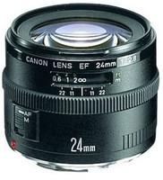 Canon EF 24 mm F2.8 58 mm Objetivo (Montura Canon EF) negro