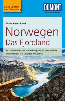 DuMont Reise-Taschenbuch Reiseführer Norwegen, Das Fjordland. mit Online-Updates als Gratis-Download - Marie Helen Banck  [Taschenbuch]