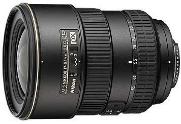 Nikon AF-S DX NIKKOR 17-55 mm F2.8 ED G IF 77 mm Obiettivo (compatible con Nikon F) nero