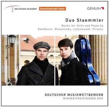 Duo Staemmler - Werke für Cello und Klavier