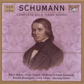 Klára Würtz - Schumann: Complete Piano Works