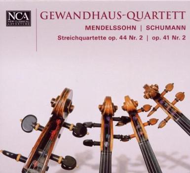 Gewandhaus-Quartett - Streichquartette Op.44,2/Op.41,2