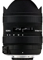 Sigma 8-16 mm F4.5-5.6 DC HSM (adapté à Canon EF) noir