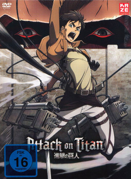 Attack on Titan: Vol. 1 - Folge 01-07 [Limited Edition, inkl. Aufnäher & Booklet]