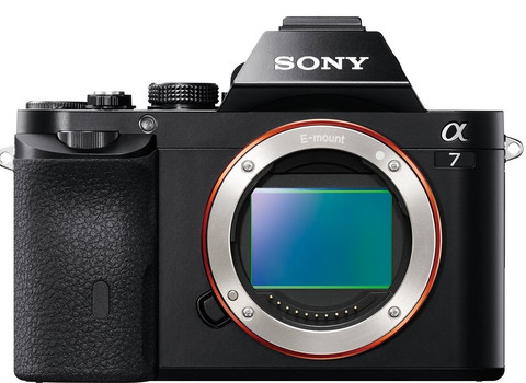 Sony Alpha 7 body schwarz
