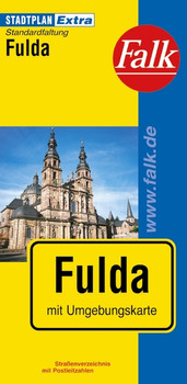 Falk Stadtplan Extra Standardfaltung Fulda