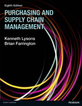 Purchasing and Supply Chain Management - Lysons, Kenneth