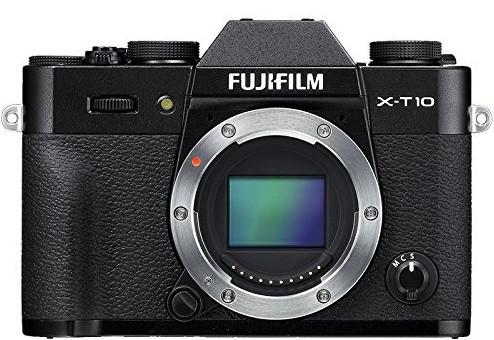 Fujifilm X-T10 body nero
